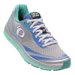 Women's Pearl Izumi EM Road N 2 v3 Running Shoe Silver/Aqua Mint