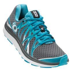 Women's Pearl Izumi EM Road N 3 Running Shoe Shadow Grey/Algiers Blue