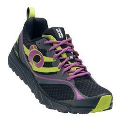 Women's Pearl Izumi EM Trail M 2 v2 Trail Running Shoe Black/Meadow Mauve