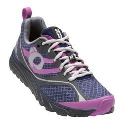 Women's Pearl Izumi EM Trail M 2 v2 Trail Running Shoe Deep Indigo/Shadow Grey