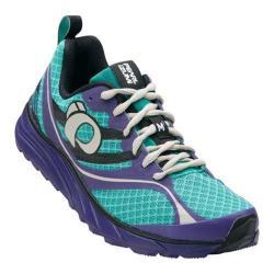 Women's Pearl Izumi EM Trail M 2 v2 Trail Running Shoe Dynasty Green/Deep Wisteria