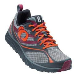 Men's Pearl Izumi EM Trail M 2 v2 Trail Running Shoe Shadow Grey/Spicy Orange