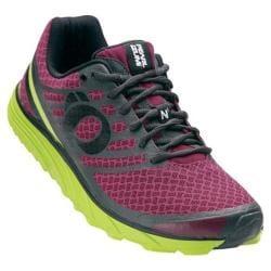 Men's Pearl Izumi EM Trail N 1 v2 Trail Running Shoe Beet Red/Lime Punch