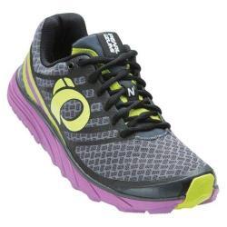 Women's Pearl Izumi EM Trail N 1 v2 Trail Running Shoe Shadow Grey/Meadow Mauve