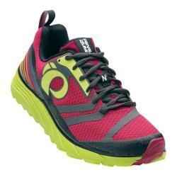 Women's Pearl Izumi EM Trail N 2 v2 Trail Running Shoe Cerise/Lime Punch
