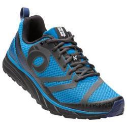 Men's Pearl Izumi EM Trail N 2 v2 Trail Running Shoe Black/Fountain Blue