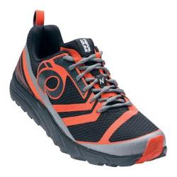 Men's Pearl Izumi EM Trail N 2 v2 Trail Running Shoe Shadow Grey/Spicy Orange