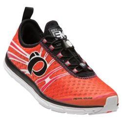 Women's Pearl Izumi EM Tri N 1 v2 Triathlon Shoe Clementine/Rouge Red