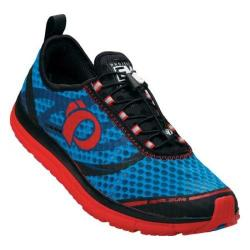 Men's Pearl Izumi EM Tri N 2 v2 Triathlon Shoe Brilliant Blue/Firey Red