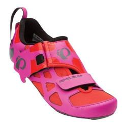 Women's Pearl Izumi Tri Fly V Carbon Triathlon Shoe Hot Pink/Black