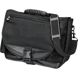 Preferred Nation 9806 Messenger Brief Bag (Set of 2) Black