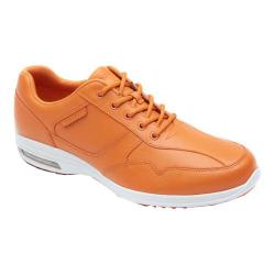 Men's Rockport City Routes Bike Mudguard Oxford Burnt Orange Leather