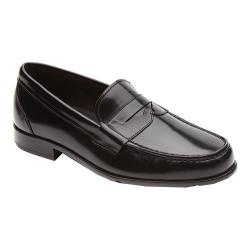Men's Rockport Classic Penny Loafer Black Brush Off Leather