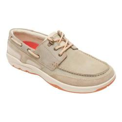 Men's Rockport Cshore Bound 3 Eye Shoe Sand Leather