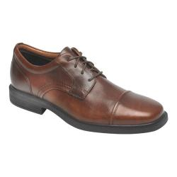 Men's Rockport Dressports Luxe Cap Toe Oxford New Brown Leather