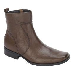 Men's Rockport High Trend Toloni Boot Dark Brown Leather