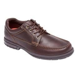 Men's Rockport Into the Weekend Moc Toe Ox Chocolate Leather
