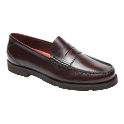 Men's Rockport Modern Prep Penny Loafer Burgundy Leather