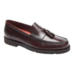 Men's Rockport Modern Prep Tassel Loafer Burgundy Leather