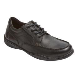 Men's Rockport Rocker Landing II Moc Oxford Black Leather