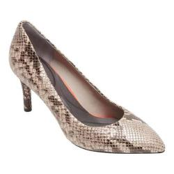 Women's Rockport Total Motion 75MM Plain Pump Roccia Python