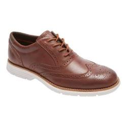 Men's Rockport Total Motion Fusion Wing Tip Tan