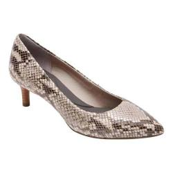 Women's Rockport Total Motion Kalila Pump Roccia Python Leather