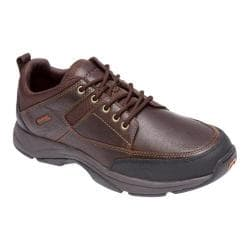 Men's Rockport We're Rockin Moc Front Ox Chocolate Leather