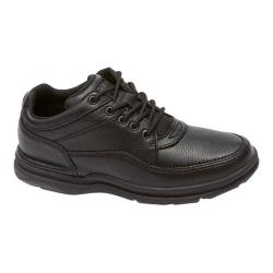 Women's Rockport World Tour Classic Black Tumbled Leather