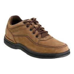 Men's Rockport World Tour Classic Walking Shoe Chocolate Nubuck