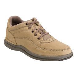 Men's Rockport World Tour Classic Walking Shoe Sand Nubuck