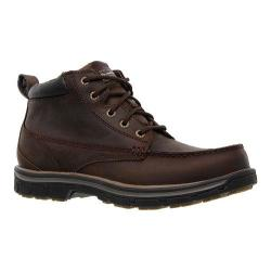 Men's Skechers Relaxed Fit Segment Barillo Brown/Brown