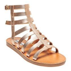 Women's Steve Madden Beeast Gladiator Sandal Gold Leather