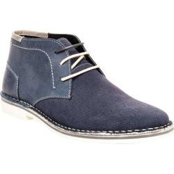 Men's Steve Madden Henree 2 Chukka Boot Navy Leather