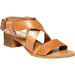 Women's Steve Madden Lorelle Sandal Cognac Leather