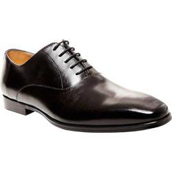 Men's Steve Madden Matadorr Plain Toe Oxford Black Leather