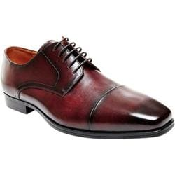 Men's Steve Madden Milnerr Cap Toe Oxford Burgundy Leather