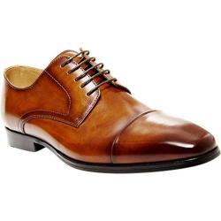 Men's Steve Madden Milnerr Cap Toe Oxford Tan Leather