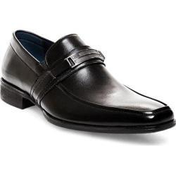 Men's Steve Madden Shoore Penny Loafer Black Leather
