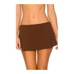 Women's Sunsets Contemporary Swim Skirt Java