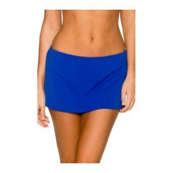 Women's Sunsets Contemporary Swim Skirt Ultra Blue