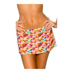 Women's Sunsets Contemporary Swim Skirt Bright Side