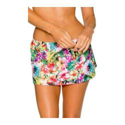 Women's Sunsets Contemporary Swim Skirt In Bloom