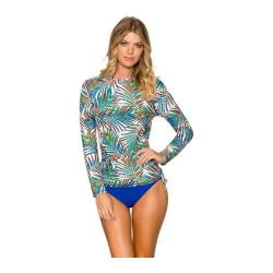 Women's Sunsets Long Sleeve Crewneck UV Top Palmera