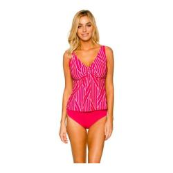 Women's Sunsets Underwire Twist Tankini Set Sail