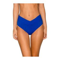 Women's Sunsets V-Front High Waist Swim Bottom Ultra Blue
