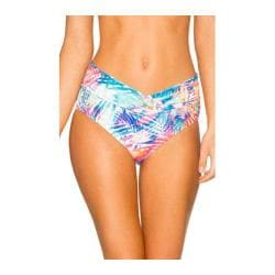 Women's Sunsets V-Front High Waist Swim Bottom Island Heat