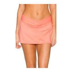 Women's Sunsets V-Front Swim Skirt Sun-Kissed Melon