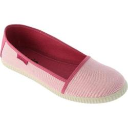 Women's Victoria Camping Rayas Flat Fucsia