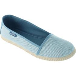 Women's Victoria Camping Rayas Flat Gris